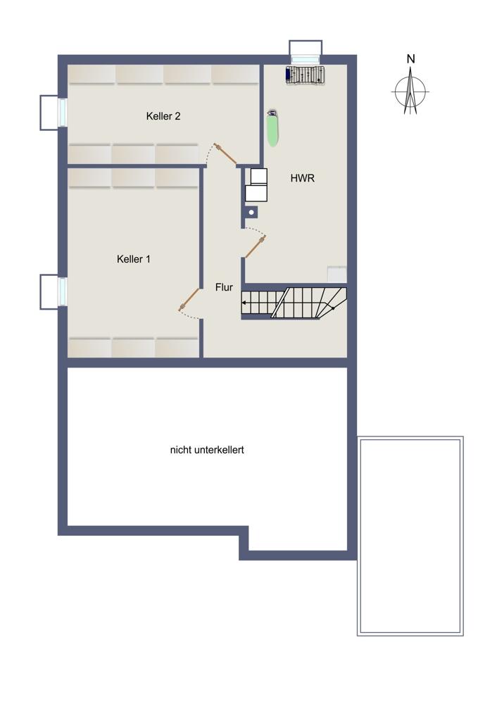 Kellergeschoss - aktuell